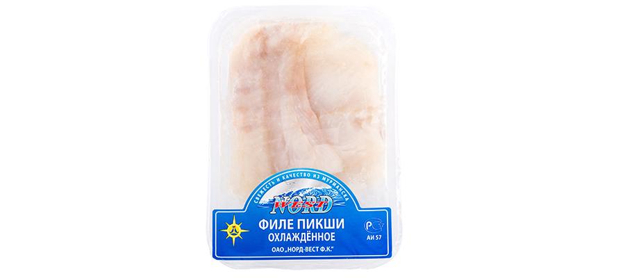 Пикша филе порции охлаждённые